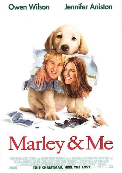Марли и я / Marley & Me [2008 г., комедия, мелодрама, драма, семейный, DVDRip]