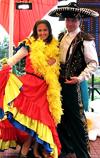 """Свадьба в стиле  """"Мексиканский карнавал """".  Место проведения: летняя площадка либо"""