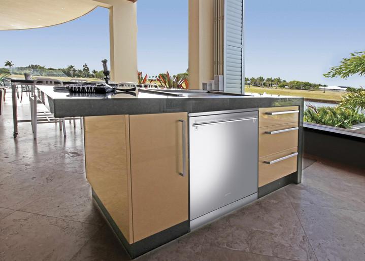 Дизайн гостиной с кухней в современном стиле фото