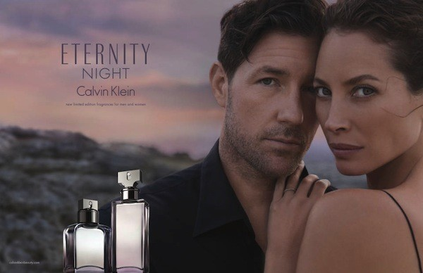 Кристи Тарлингтон для Calvin Klein Eternity Night