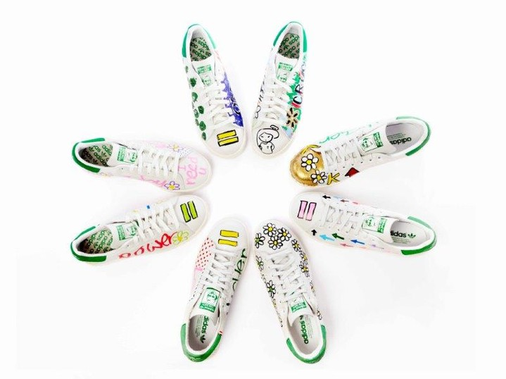 ���������, adidas Stan Smiths by Pharrell Williams