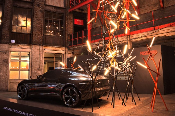 Инсталляция Jaguar и Foscarini в рамках Clerkenwell Design Week 2014