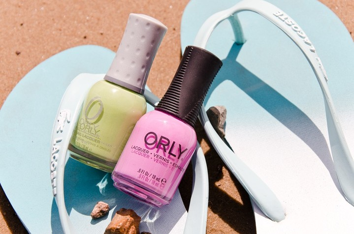 ���� ��� ������ Green Apple � Pink Waterfall, Orly