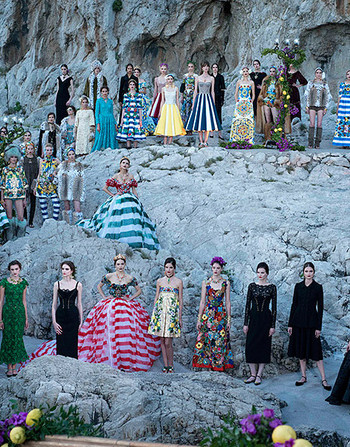 ������ Andy Fiord Models ����������� �������� ��������� Dolce&Gabbana!