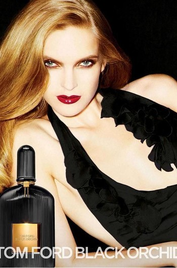 Кара Делевинь стала  лицом аромата Tom Ford Black Orchid