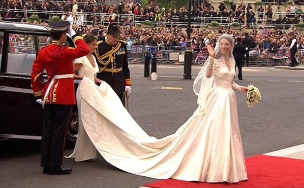 Свадебные платья королевских особ фото