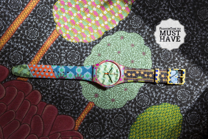 Часы Swatch Art Special: must-have осени