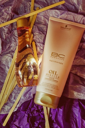 Масло и шампунь BC Oil Miracle, Schwarzkopf Professional