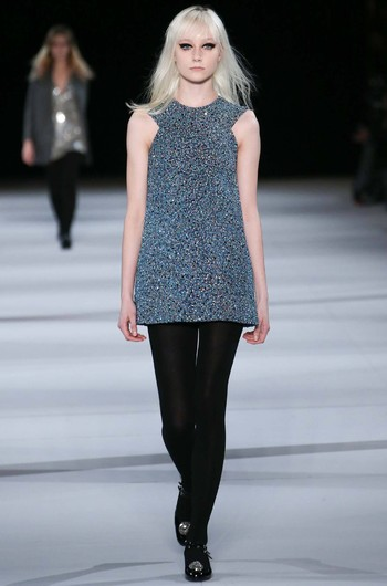 Saint Laurent, осень-зима 2014/15