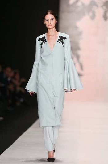Dasha Gauser, осень-зима 2015/16: Mercedes-Benz Fashion Week Russia
