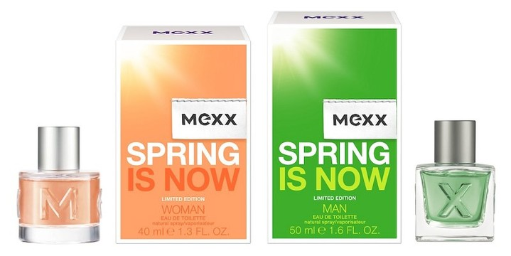 АРОМАТЫ ВЕСНЫ: MEXX Spring is now limited edition