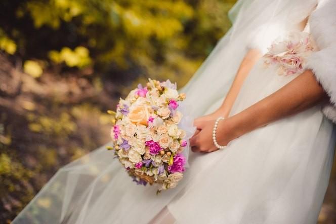 Букет невесты: интересные идеи 2015 года