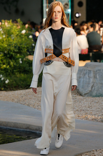 Louis Vuitton Resort 2016: показ в Палм-Спрингс