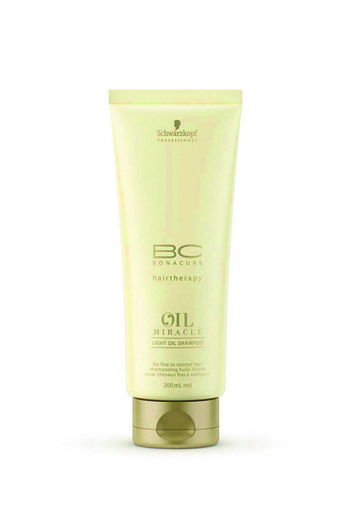 BC Oil Maracle Light Shampoo, Schwarzkopf Professional
