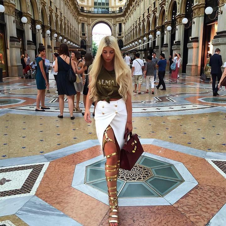 фото девушек модных блондинок
