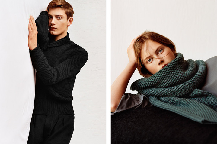 � �������� ��������� pop-up store Uniqlo and Lemaire