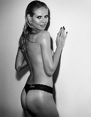 Shoot topless Heidi klum