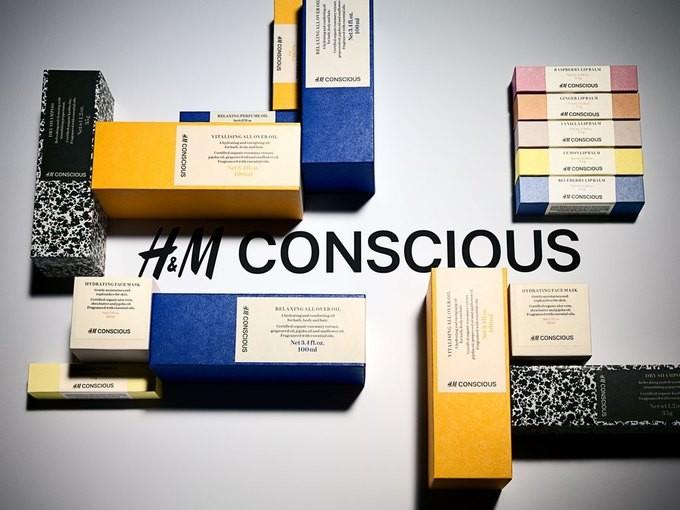 H&M запускают линейку органической косметики