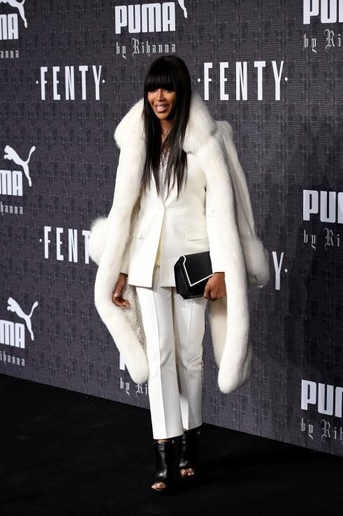 Все топ-модели на показе Puma By Rihanna в Нью-Йорке 24487b711e2