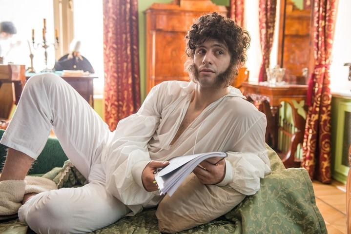 Фото из сериала Пушкин