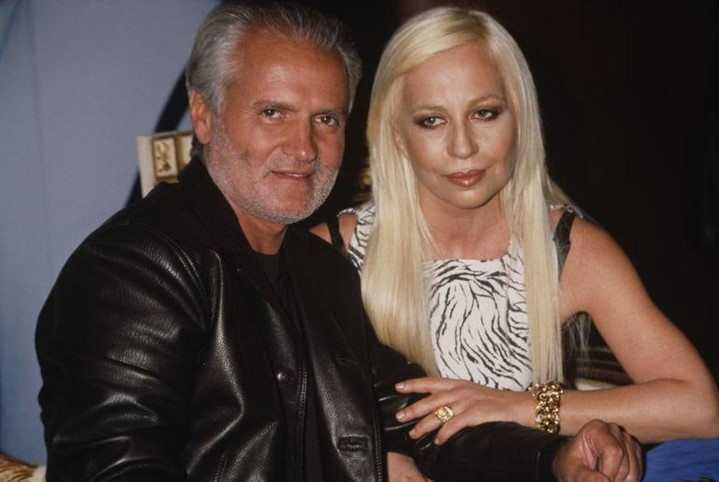 Леди Гага перевоплотилась вДонателлу Версаче