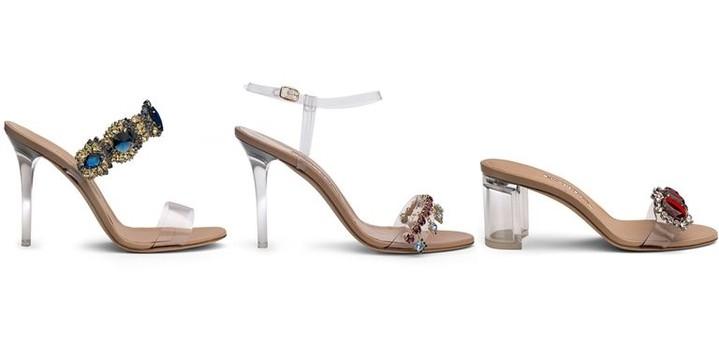 Каблуки икристаллы: Рианна похвасталась яркой свежей коллекцией обуви Rihanna xManolo