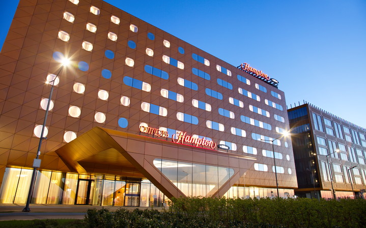 Hampton by Hilton St.Petersburg ExpoForum: месторасположение