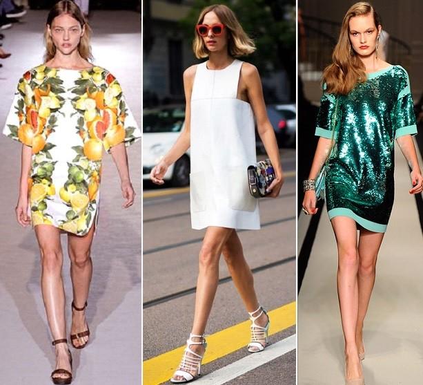 Фото модных платьев на лето 2017