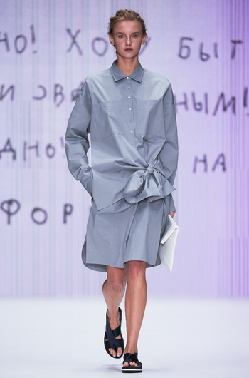 Mercedes-Benz Fashion Week Russia: коллекция Yulia Nikolaeva весна-лето 2018