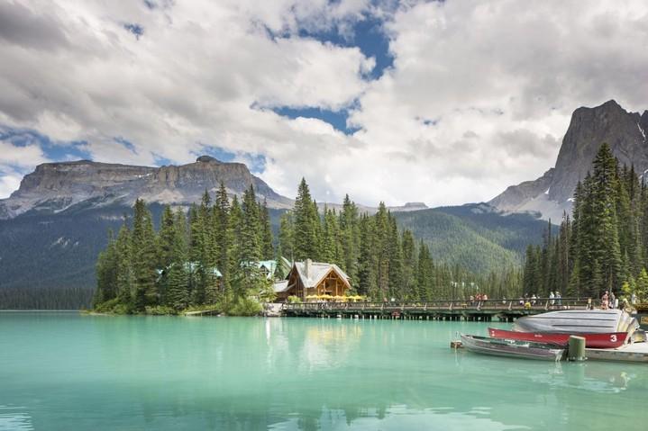 Озеро Эмералд, Канада