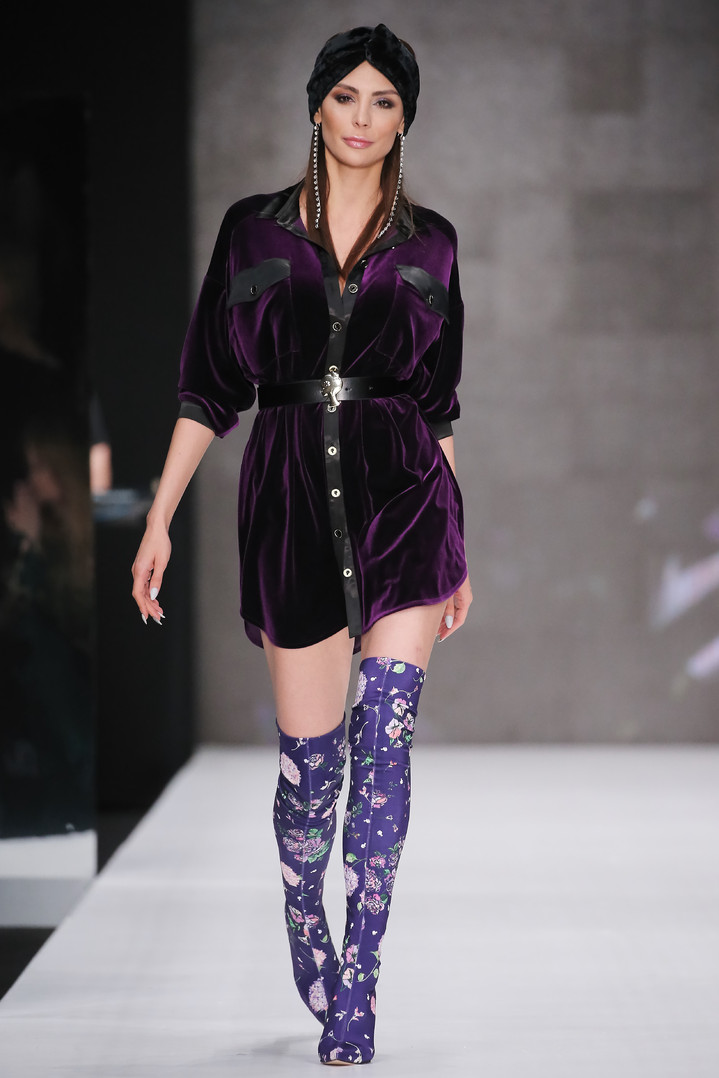 Mercedes-Benz Fashion Week Russia: Bella Potemkina осень-зима 2018