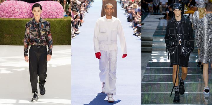 Неделя мужской моды, весна-лето 2019
