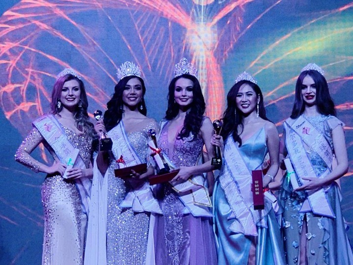 Россиянка выиграла конкурс Miss All Nations 2019