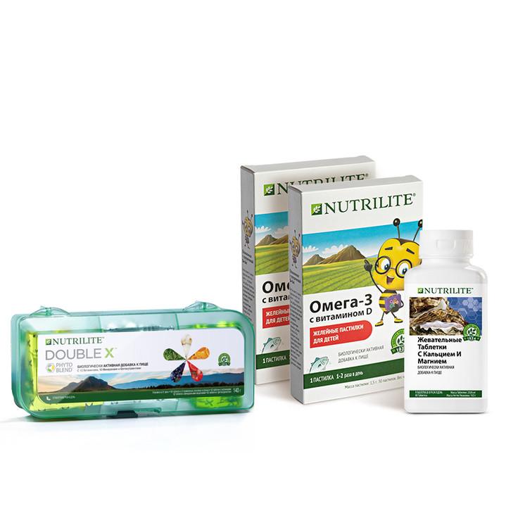 Набор «Функционального питания» от Nutrilite™ — ключ к сбалансированному детскому питанию