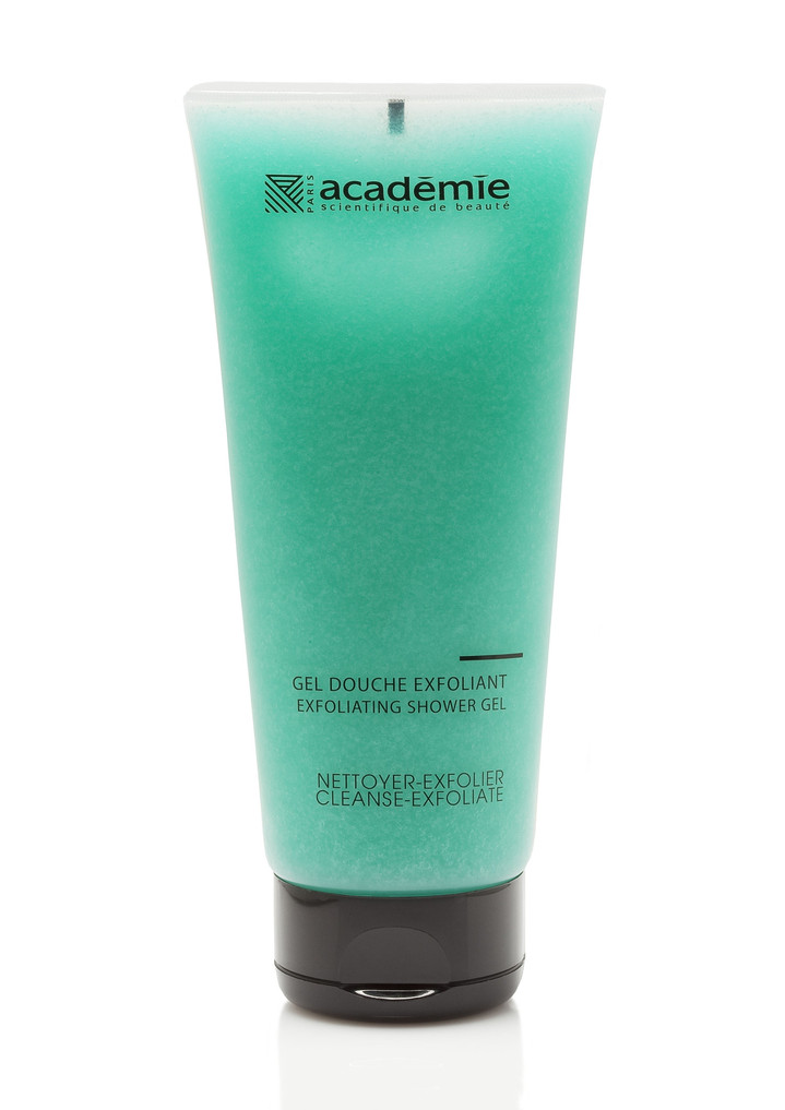 Гель-пилинг для душа Gel Douche Exfoliant Academie