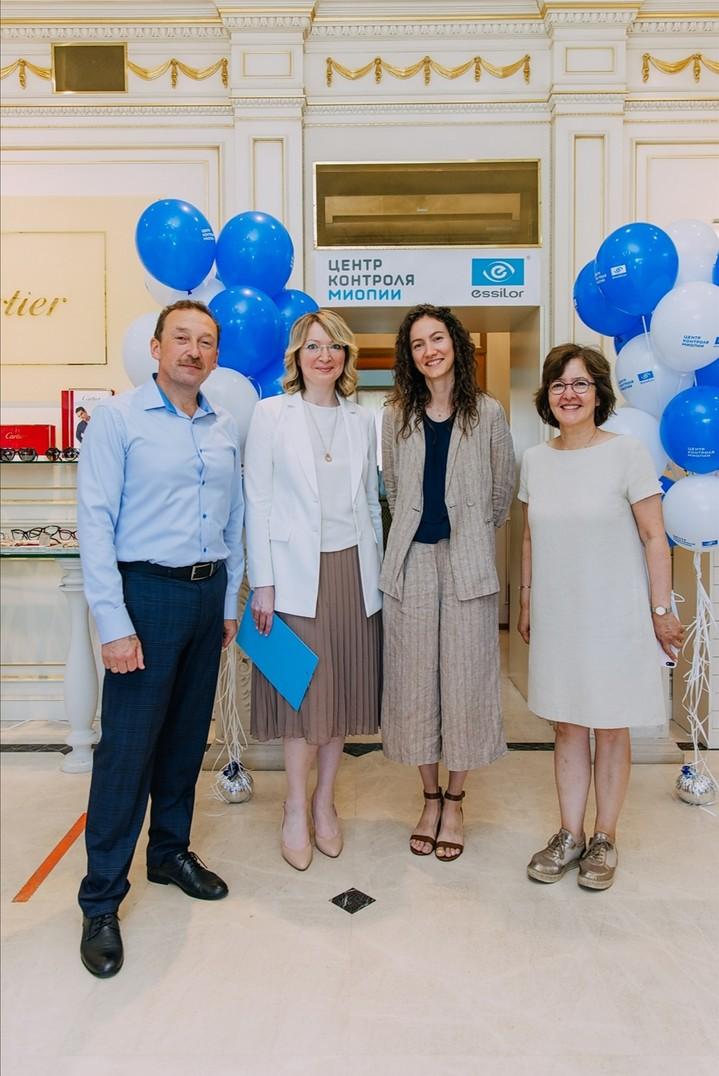 Essilor открыли первый в Москве «Центр Контроля Миопии»