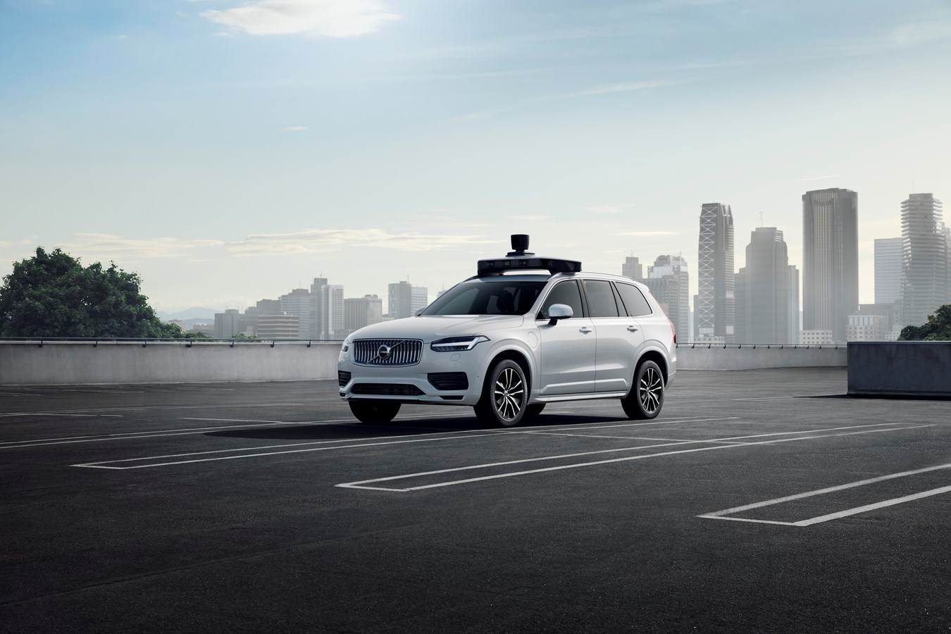 Фото: Volvo Cars и Uber представляют беспилотный автомобиль