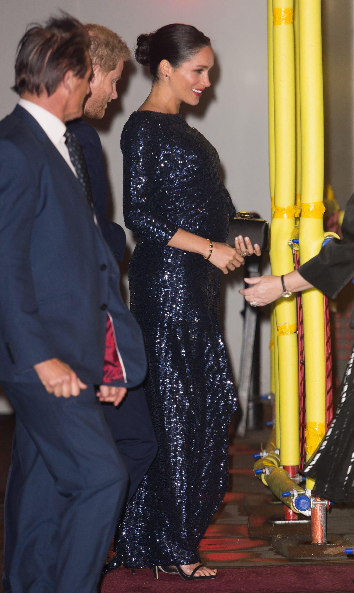 Фото: Меган Маркл носит любимый браслет принцессы Дианы