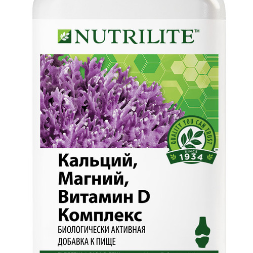 Витаминный комплекс Nutrilite™ для активного образа жизни: кальций, магний, витамин D