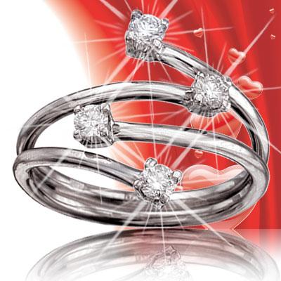 Кольца с бриллиантамидля помолвки