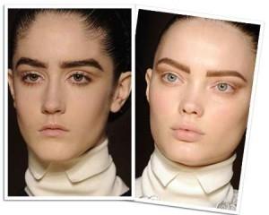 Поэкспериментируйте с бровями: у Вас выразительные черты лица, и более широкие брови будут...