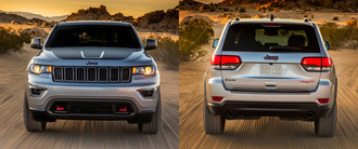 Jeep Grand Cherokee Trailhawk: тест-драйв FashionTime.ru