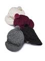 Нужно помнить о том, что шапка должна подбираться по типу внешности.  Хрупким, невысоким девушкам лучше не выбирать...