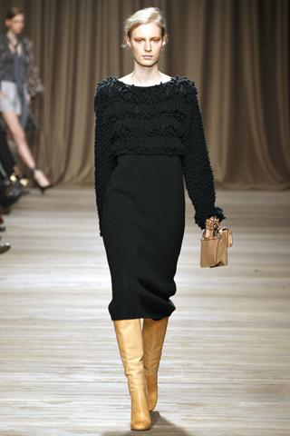 Модные платья для полных 2012.