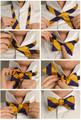 Как завязать галстук бабочка