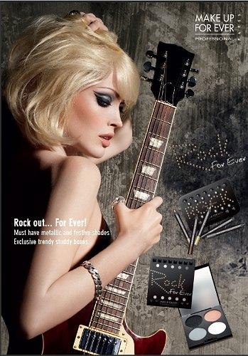 """...дизайна в стиле  """"рок """".Причина, по которой Make Up Forever обратились..."""