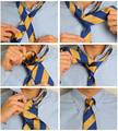 Малый узел для галстука