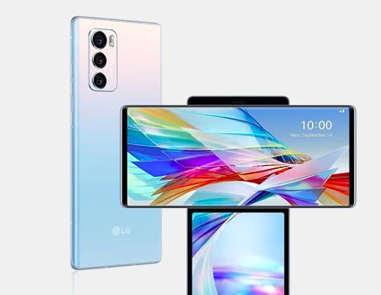 Фото: LG выпустили первый смартфон с двойным экраном