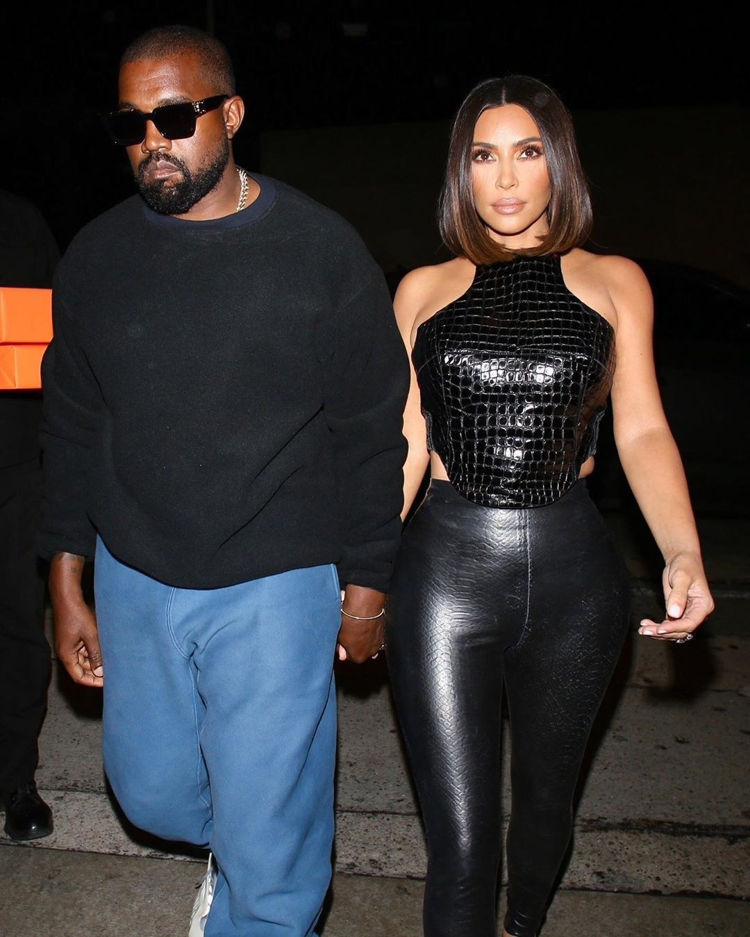 Фото: Ким Кардашьян и Канье Уэст сходили на свидание в Голливуде
