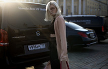 Стритстайл на Mercedes Benz Fashion Week Russia
